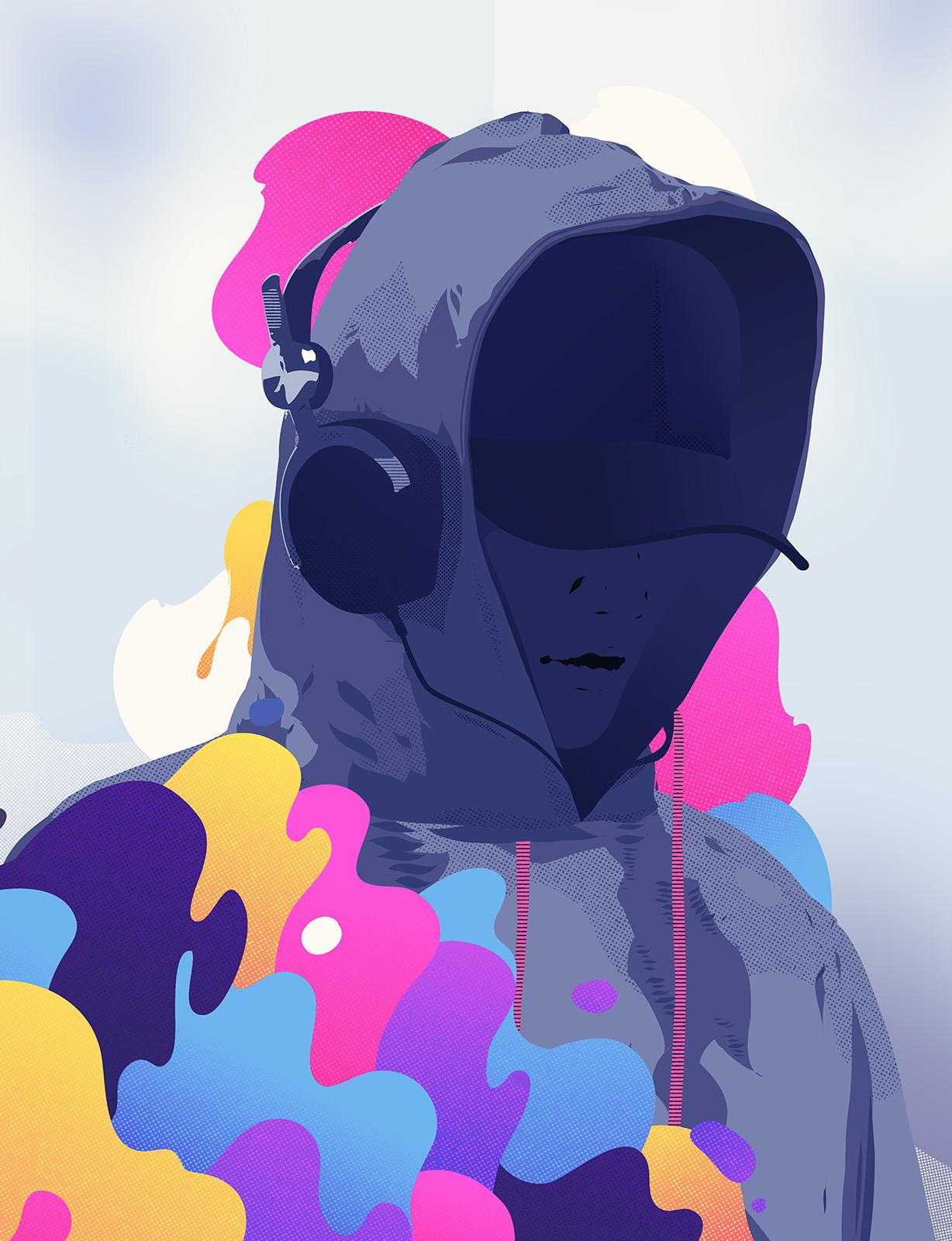 MaskedHoodie